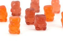 A sleuth of gummy bears.
