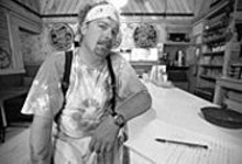 JENNIFER  SILVERBERG - The kind of guy who puts jelly on his fried bologna sandwiches: Iron Barley proprietor Tom Coghill