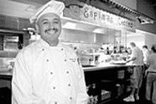 JENNIFER  SILVERBERG - A reason to smile: Chef and owner Artemio Espino - has a good thing going at his innovative Mexican - eatery.