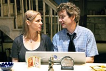 ROBERT J. SAFERSTEIN - Angelica Torn and Stephen Riley Key in August: Osage County.