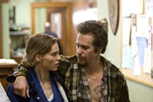 RON BATZDORFF - Murder was the case: Hilary Swank and Sam Rockwell in Conviction.