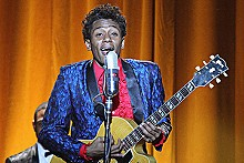 Mos Def as rock legend Chuck Berry.