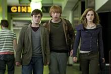 JAAP BUITENDIJK - Dynamic trio: Daniel Radcliffe, Emma Watson and Rupert Grint.