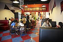 STEVE TRUESDELL - Café Lazeez: Cheese sticks for an appetizer and a chicken karahi entree? Can do.