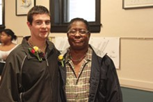 MELISSA MEINZER - Ryan and Alvin Hotop-Hill: Newlyweds in Iowa, roommates in Missouri.