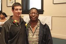 MELISSA MEINZER - Ryan and Alvin Hotop-Hill: Newlyweds in Iowa, roommates in Missouri.
