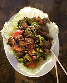 JENNIFER SILVERBERG - Joy Luck Buffet's Chengdu Spicy Beef. Click here for a complete slideshow from The Joy Luck Buffet.