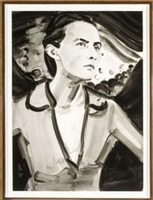 MILDRED LANE KEMPER ART MUSEUM, WASHINGTON UNIVERSITY - Elizabeth Peyton, Georgia (After Stieglitz, 1918), 2006, direct gravure etching with aquatint, 30 by 22 inches.