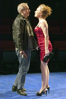 JOHN LAMB - Bobby Miller and Kari Ely in New Jewish Theatre's Sirens.