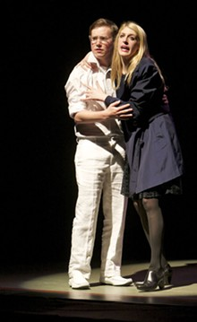 DAN DONOVAN - Saint Louis University Theatre's production of Dead Man's Cell Phone on April 28, 2011.