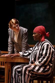 STEWART GOLDSTEIN - Shanara Gabrielle (Susannah Mullally) and DeniseThimes (Pearl Johnson) in Black Pearl Sings!