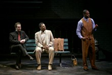 JERRY NAUNHEIM JR. - Jeffrey C. Hawkins, Corey Allen and Bryan Terrell Clark in The Fall of Heaven.