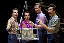 JOAN MARCUS - All together now: Jersey Boys enraptures the audience at the Fox.