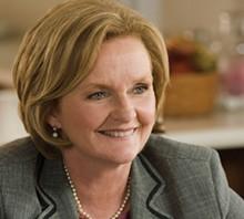 OFFICIAL PORTRAIT - US Senator Claire McCaskill.