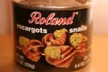 Roland Escargots Snails requires a more complicated preparation than your typical can-to-mouth fare.