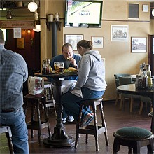 JENNIFER SILVERBERG - Just Irish enough: Tigín straddles the line between a pub and an old familiar chain.
