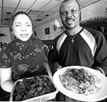 JENNIFER  SILVERBERG - Kike and Koffo Osun's African Palace: the place to go for authentic African food