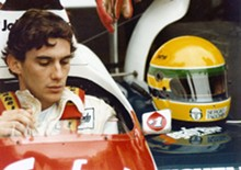 God was his copilot: Ayrton Senna, one of the world's best Formula One racers.