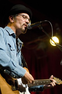 KHOLOOD EID - Brian Henneman of The Bottle Rockets during a performance at Off Broadway.