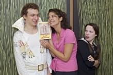DAN DONOVAN - Clayton Fox, Nancy Bell and Chelsea Serocke in End Days.