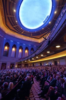 JASON STOFF - The Peabody Opera House on the night of its grand opening.