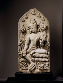 ASIA SOCIETY, NEW YORK: MR. AND MRS. JOHN D. ROCKEFELLER 3RD COLLECTION - Bodhisattva Avalokitesvara in the Form of Khasarpana Lokesvara, late-eleventh or early-twelfth century, India, Bihar or Bengal.
