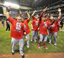 UPI/BRIAN KERSEY - This crop of October Cardinals just beat - the Beast, but now they need a new animal.