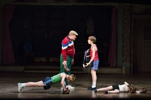 KYLE FROMAN - Joel Blum (George) and Kylend Hetherington (Billy) in Billy Elliot the Musical.