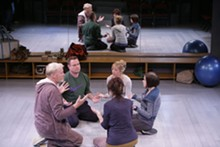 JERRY NAUNHEIM JR. - An incomplete transformation: The cast of the Rep's Circle Mirror Transformation.