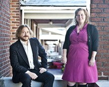 COREY WOODRUFF - Ryan Spearman and Kelly Wells have helped guide Folk School St. Louis.
