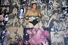 JENNIFER SILVERBERG - One of the biggest stars of his generation, Harley Race often wrestled up to 350 matches a year, defending his NWA World Heavyweight Championship against the top names of each territory.