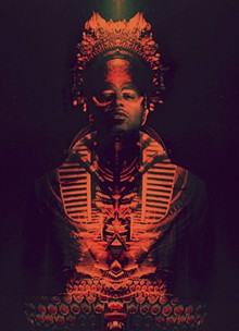 IMAGE BY LEIF PODHAJSKY/PHOTO BY DAVID BELISLE - Shabazz Palaces was the first hip-hop act signed to Sub Pop Records.