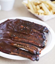 JENNIFER SILVERBERG - Half slab of ribs