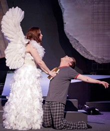 JOHN LAMB - Just like Heaven: Sarajane Alverson and Ben Watts in Angels in America.