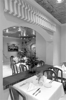 JENNIFER  SILVERBERG - Room and bored: Bistro Tercet is the latest in a long line of ho-hum Seven Gables eateries.