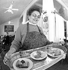 JENNIFER  SILVERBERG - The height of civilization: Pastry chef Voula Natsis sweetens the Sappington Barn Tea Room
