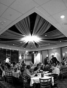JENNIFER  SILVERBERG - The Gabriele brothers provide the setting for relaxed, - upscale contemporary dining.