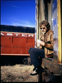 Sam Bush is a bluegrass whirlwind.