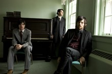 CRACKERFARM - The Avett Brothers in a moment of stillness.