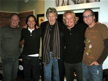 KEN MURPHY/VENICE CENTRAL - Roger Waters with the band Venice. Kipp Lennon is second from the left.