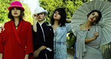 MIA KIRBY - Warpaint: Ladies who lunch, with a twist.