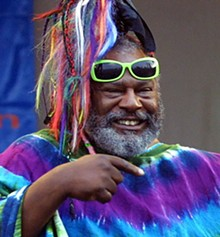 George Clinton: The atomic dog rises again.