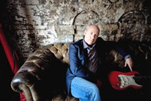Mark Knopfler: Writing songs in the wee hour.