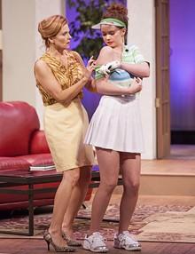 JOHN LAMB - Jenni Ryan and Susie Wall in The Fox on the Fairway.