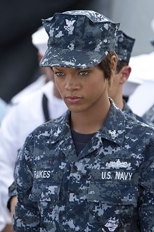 UNIVERSAL PICTURES - Rihanna in Battleship.