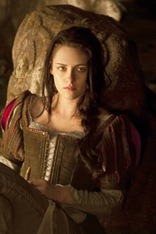 UNIVERSAL PICTURES - Fairly complex fairy tale: Kristen Stewart in Snow White and the Huntsman.
