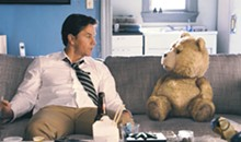 UNIVERSAL PICTURES - Mark Wahlberg hangs out with his best friend, Ted (voiced by Seth MacFarlane), in the live-action/CG-animated comedy Ted.