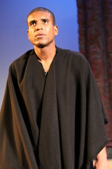 KIM CARLSON - Eternal truths from the Eternal City: Reginald Pierre stars as Coriolanus.
