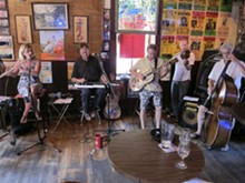 Boss Hall performs every Sunday at the Shanti and once a month at BB's Jazz, Blues and Soups.