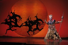 JOAN MARCUS - Buyi Zama in The Lion King.